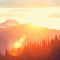 Paquelet Falk Funeral Home Obituaries Image - Sunrise Over Mountains